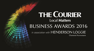 The Courier Business Awards Logo