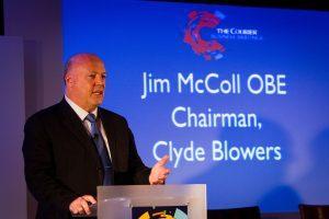 Entrepreneur Jim McColl OBE.